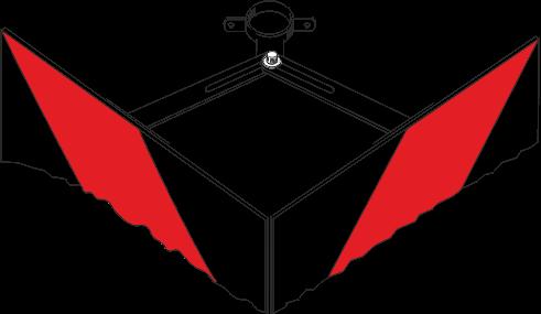 Winkelschelle RW für Leiteinrichtung (VZ 625)