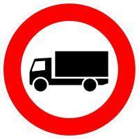 VZ 253 Verbot für Kraftfahrzeuge über 3,5 t