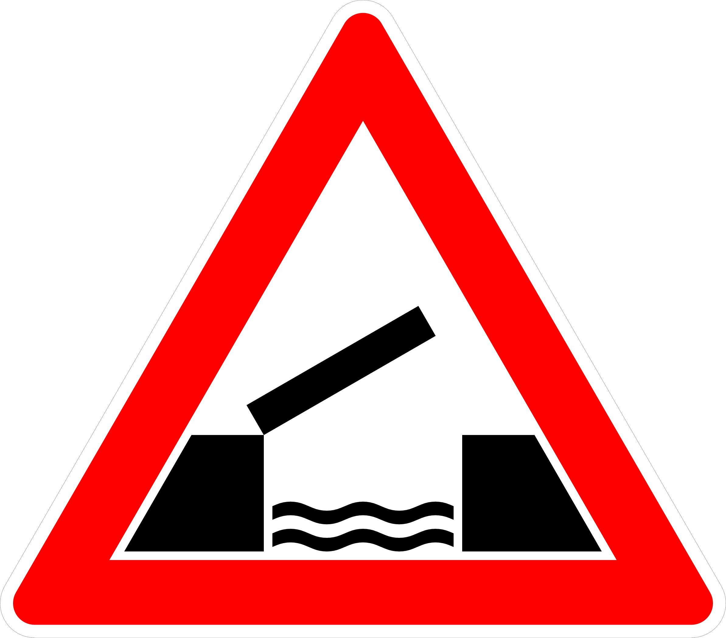 VZ 101-55 bewegliche Brücke