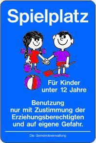 Spielplatz für Kinder unter 12 Jahre