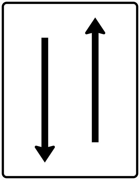 VZ 522-30 Fahrstreifentafel