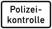 VZ 1007-58 Polizeikontrolle