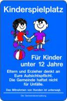 Kinderspielplatz für Kinder unter 12 Jahre