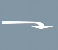 Abbiegerpfeil 5000mm rechts