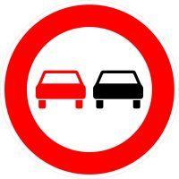 VZ 276 Überholverbot für Kraftfahrzeuge aller Art