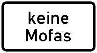 VZ 1012-33 Keine Mofas