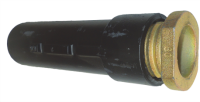 Bodenhülsen für Rohrpfosten, Grauguss, 350 mm lang