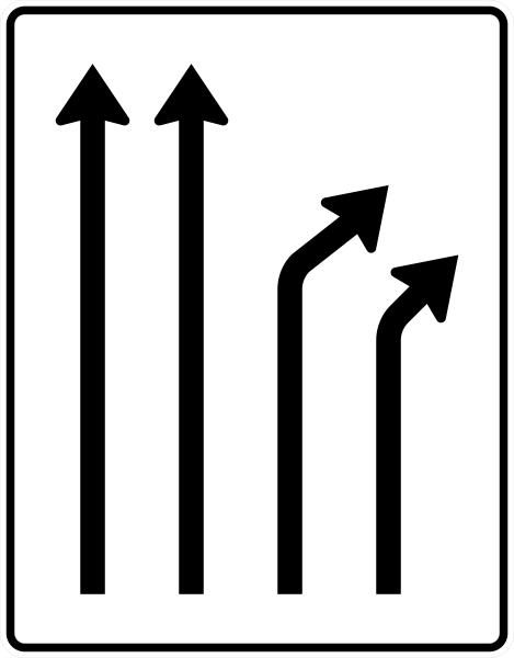 VZ 533-22 Trennungstafel