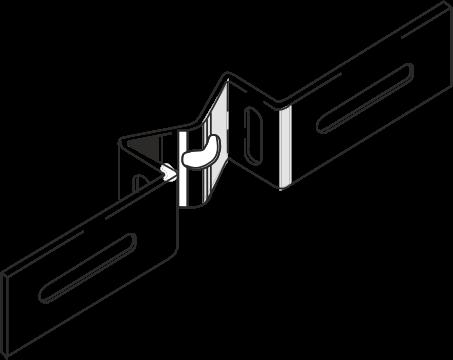 Bandschelle für Rohrschelle