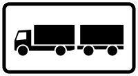 VZ 1010-60 Lastkraftwagen mit Anhänger