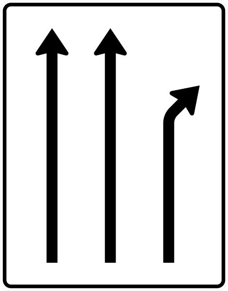 VZ 533-20 Trennungstafel