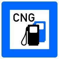 VZ 365-54 Tankstelle mit Erdgas
