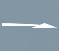 Vorankündigungspfeil 5000mm rechts