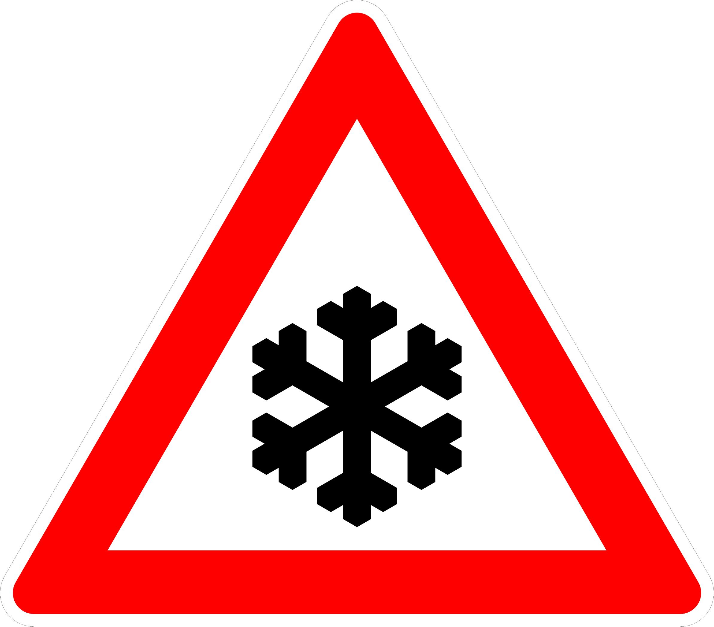 VZ 101-51 Schnee- oder Eisglätte