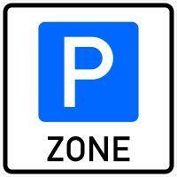 VZ 314.1 Beginn einer Parkraumbewirtschaftungszone
