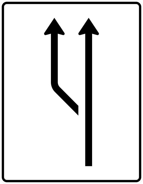 VZ 541-10 Aufweitungstafel