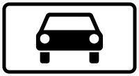 VZ 1010-50 Kraftwagen und sonstige mehrspurige Fahrzeuge