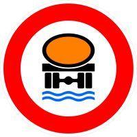 VZ 269 Verbot für Fahrzeuge mit wassergefährdender Ladung