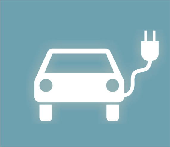Symbol für E-Autos