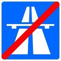 VZ 330.2 Ende der Autobahn