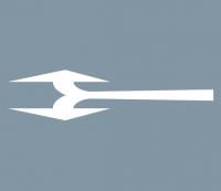 Abbiegerpfeil 5000mm links und rechts
