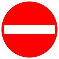 VZ 267 Verbot der Einfahrt