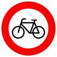 VZ 254 Verbot für Radverkehr